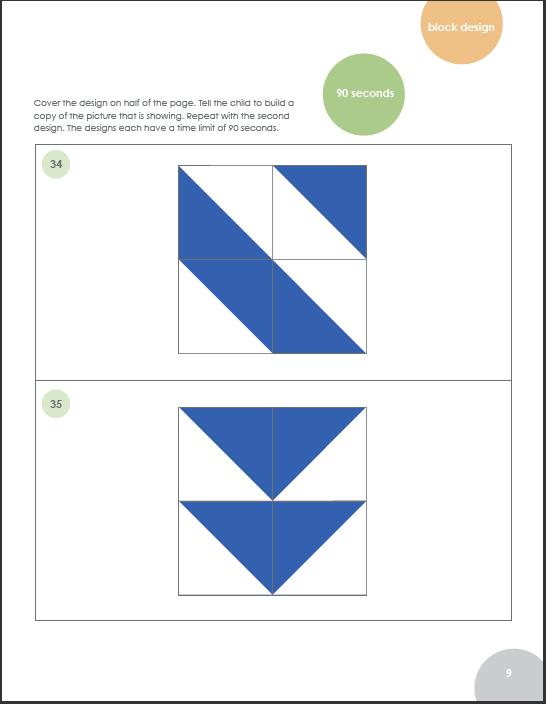 workbook digit span practice for wisc iv test
